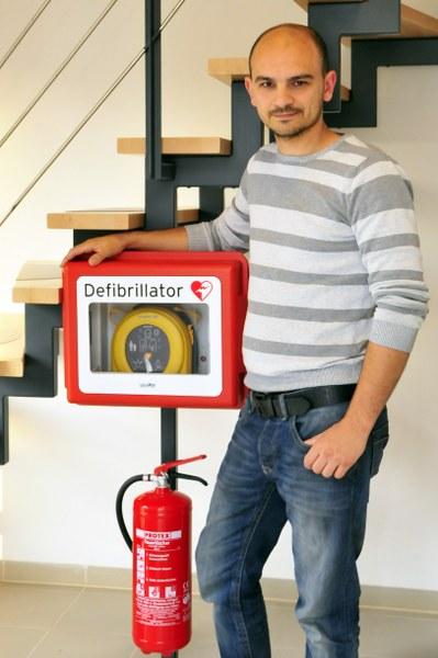 My-Zimmer Sicherheit durch Defibrillator